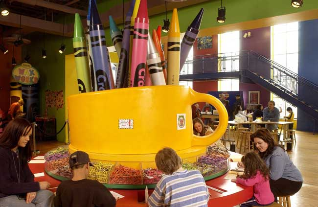 Crayola Factory Tour