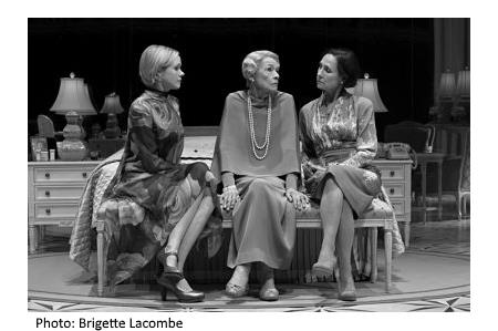 Edward Albee's Three Tall Women reviewed by Fern Siegel for TravelersUSAnotebook.com